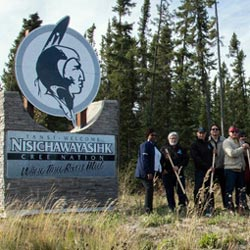 First Nations break ground for fibre optic network to span the province