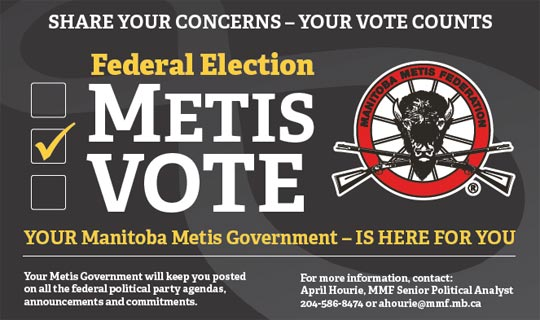Liberal Party first to respond to Metis Vote election questions